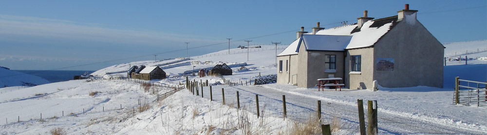 Winter at Culswick