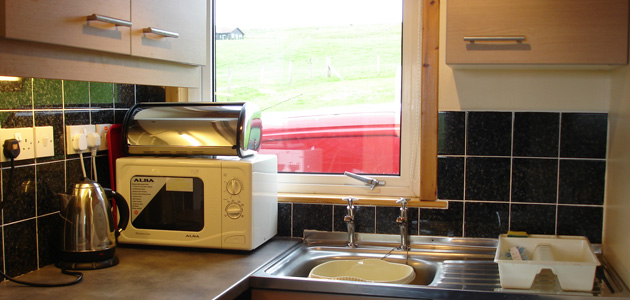 Kitchen - Gilbraes Chalets