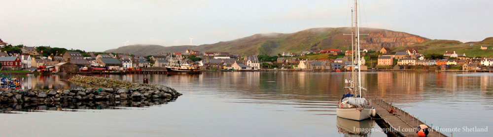 View of Scalloway