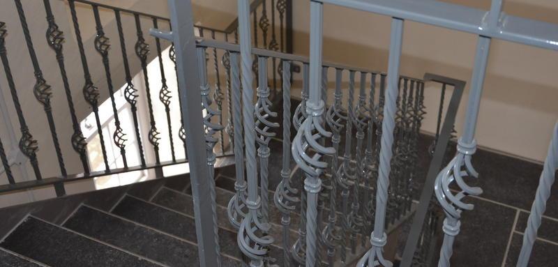 Communal Stairs - Auld Haa, Scalloway